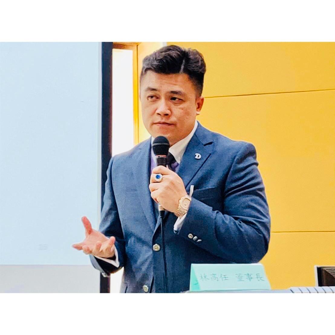達聖全球網紅新創團隊董事長林高任