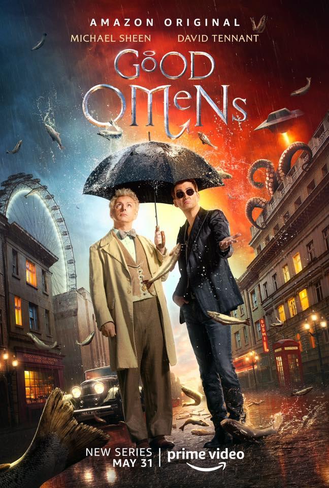 熱門英劇《好預兆》證實將拍第二季!天使惡魔再次攜手共解謎團
